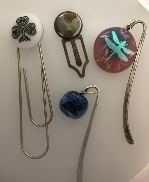 Fused Glass bookmarks