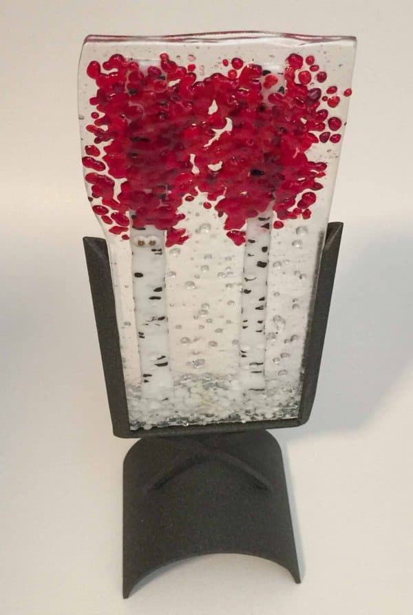 Valentines Day is coming - fused glass is a perfect gift