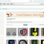 My Fused Glass Etsy Site