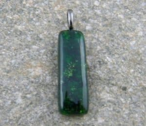 Fused Glass May Birthstone - Emerald