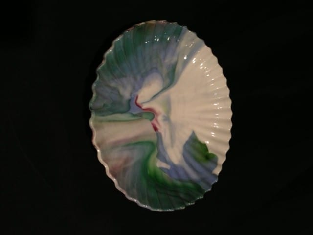 July Fresh out of the Kiln - Fused Glass Bowl