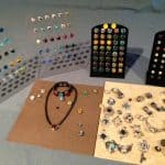 Fused Glass Interchangeable Jewelry