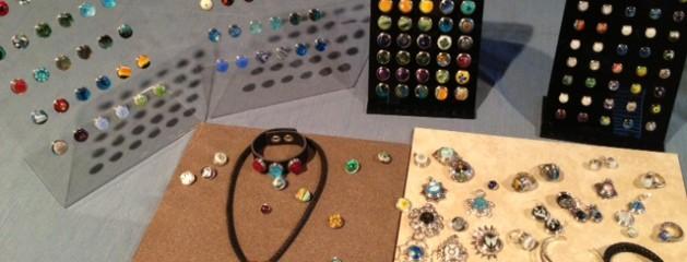Fused Glass Interchangeable Jewelry
