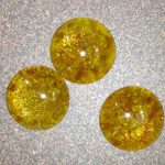 Fused Glass November birthstones – Citrine