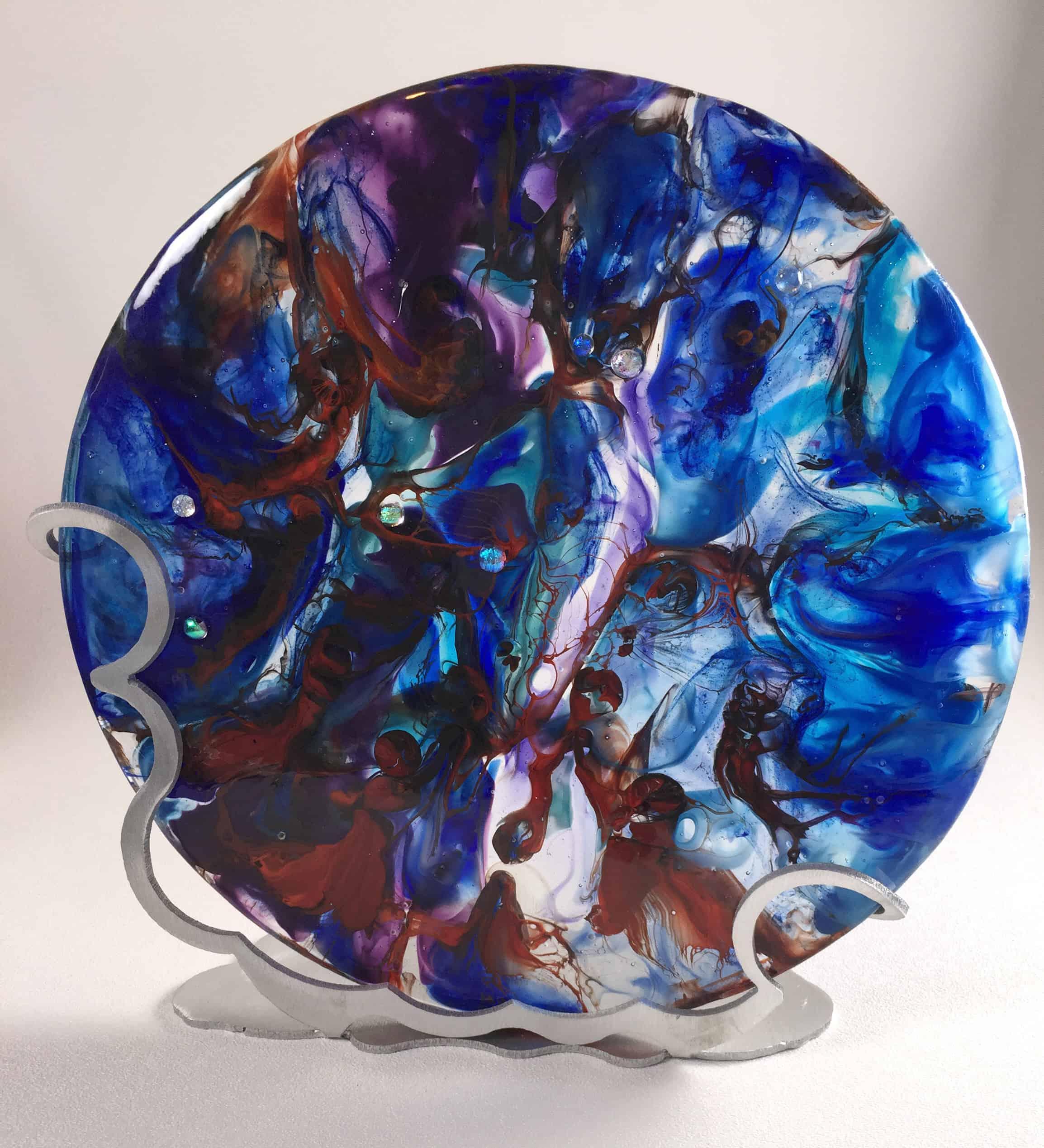 November - Fused Glass Fresh From the Kiln