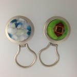 Fused Glass Magnetic Eye Glass Holder
