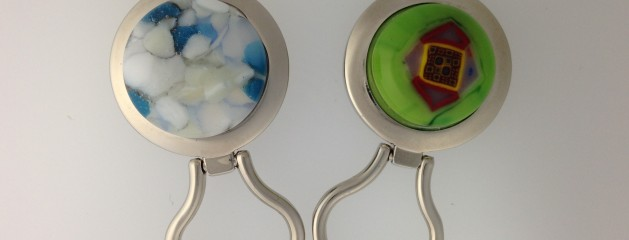 Fused Glass Eye holder
