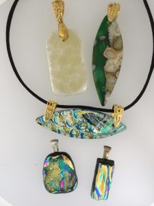 Fused Glass Gold
