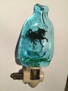Recycled Bottle Night light
