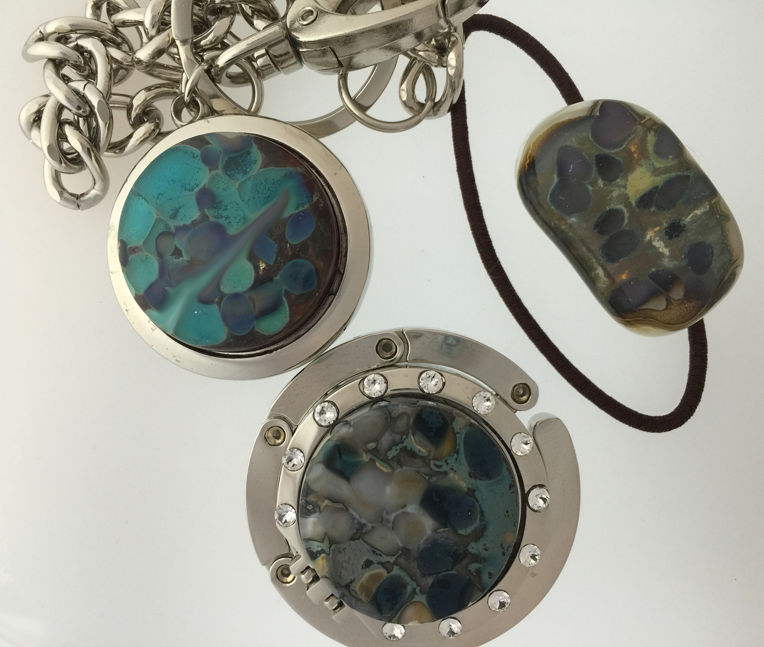 Fused glass Pebbles
