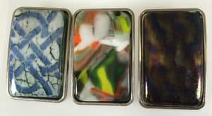 Fused Glass Belt Buckles
