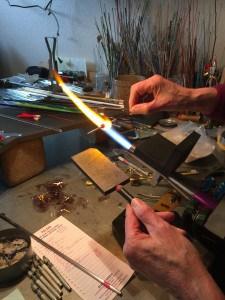 Making a flamework bead