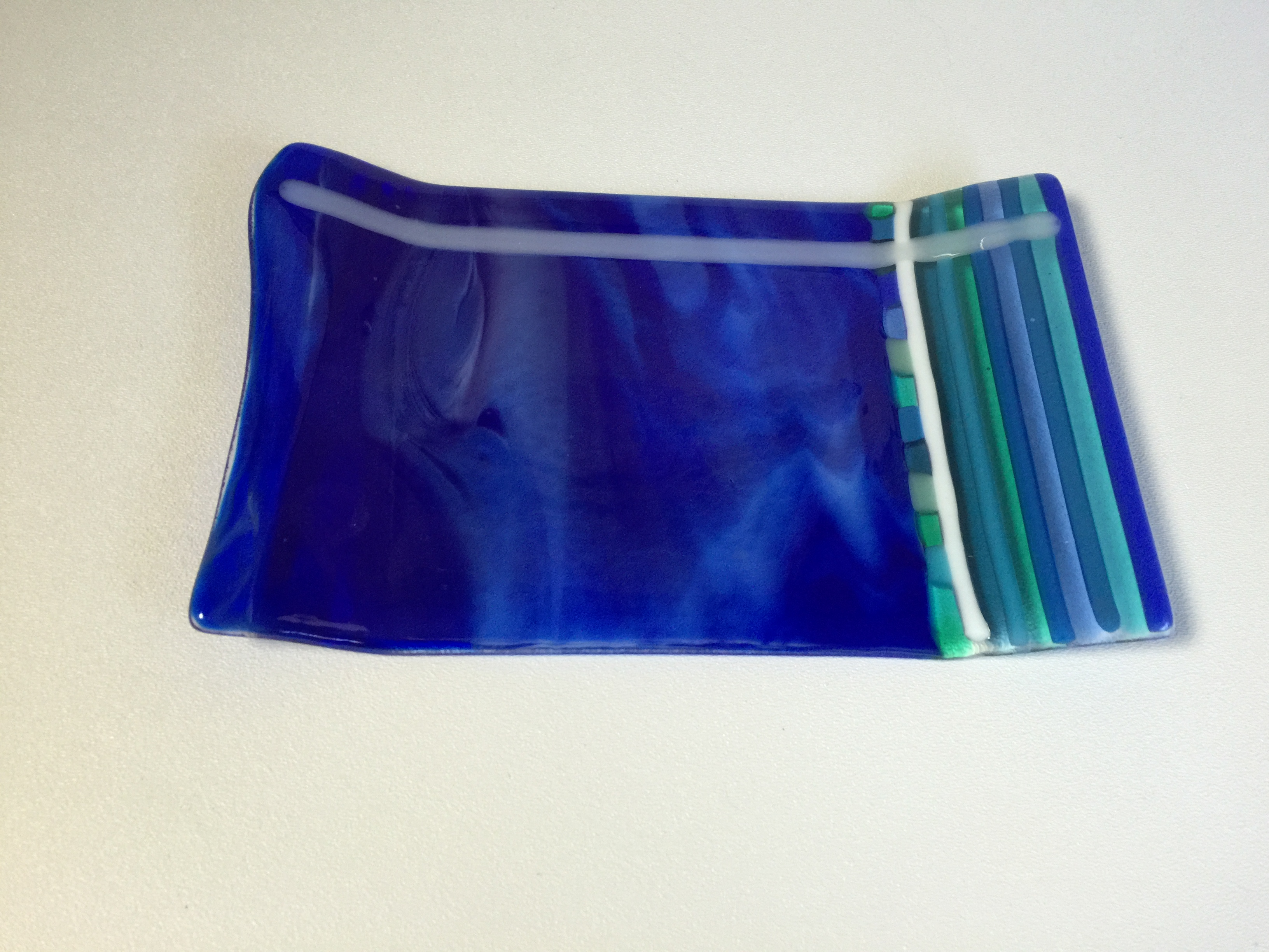 July's Fresh From the Kiln - Fusing with Rods