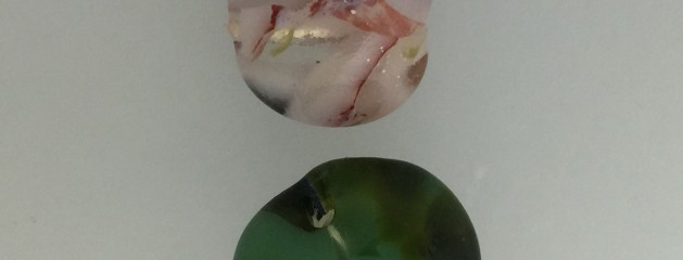 July's Mold – fused glass beads