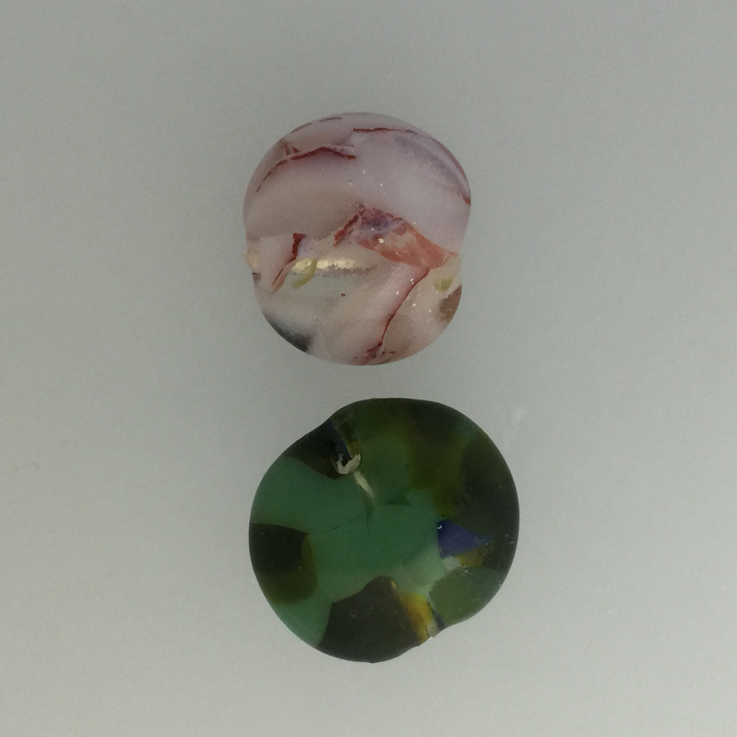 July's Mold - fused glass beads