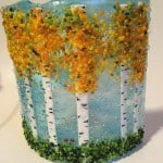 fused glass Aspen