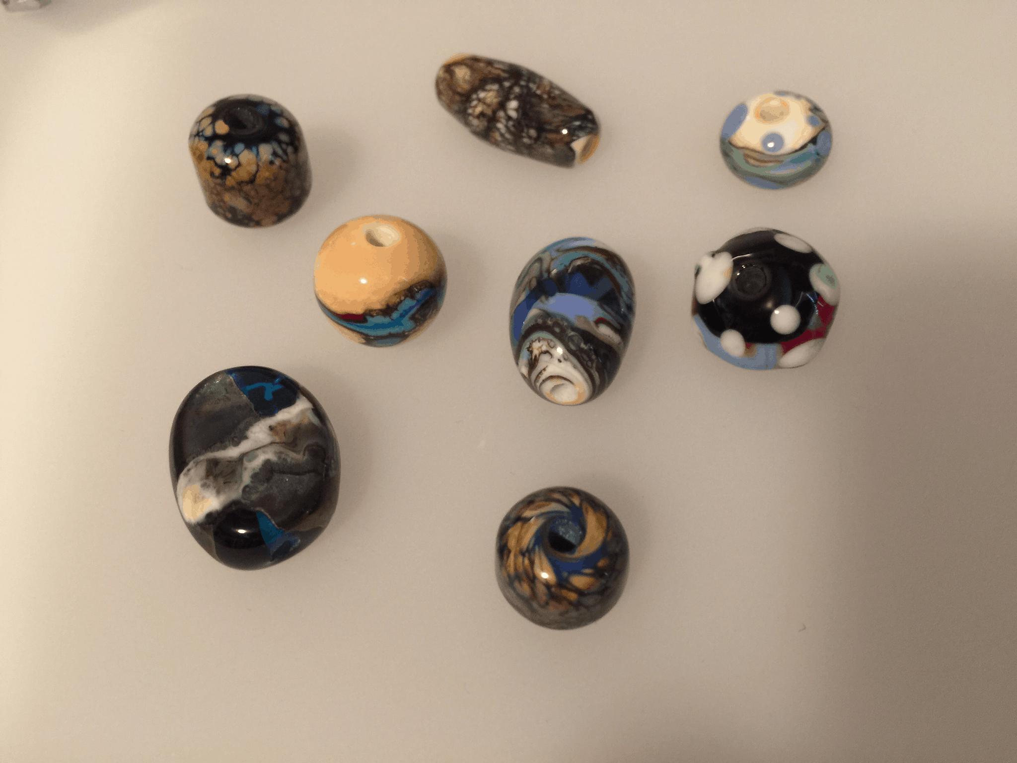 My flamework beads