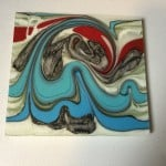 my fused glass combing