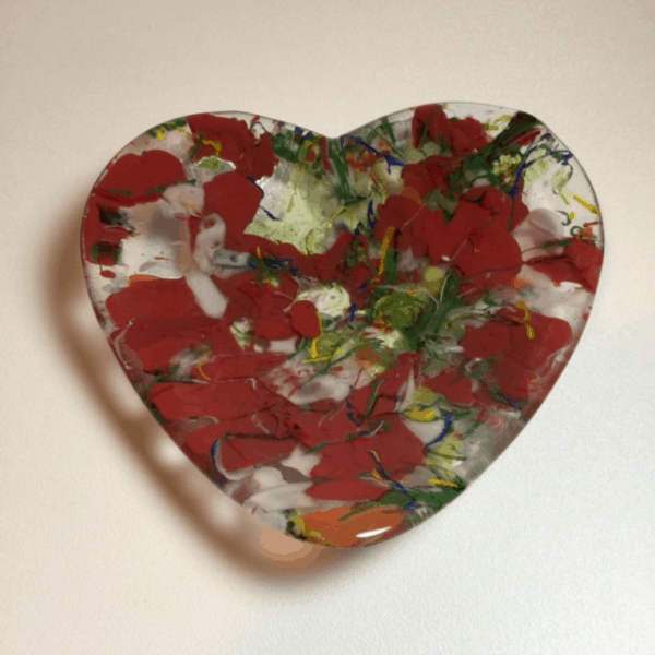 February Fused Glass Mold of the Month