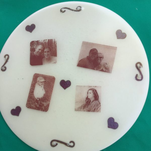 Fused Glass using a Silhouette