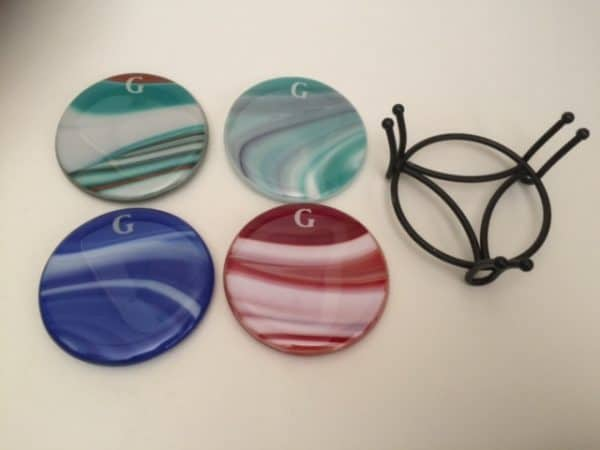 Custom Fused Glass pieces from my kiln