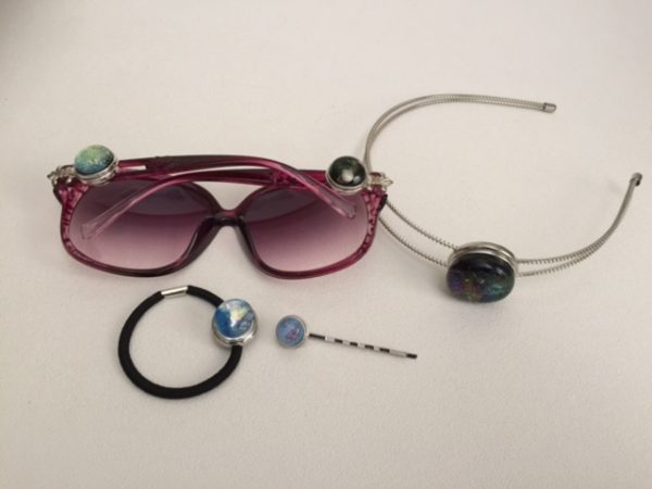 New Fused Glass Snaps and Findings