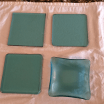 Commercial Fused Glass Soap Dishes