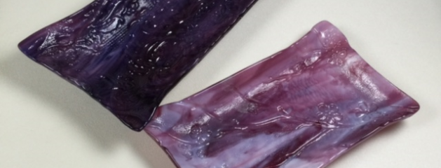 Purple – Fused glass