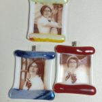 Custom Fused Glass Ornaments