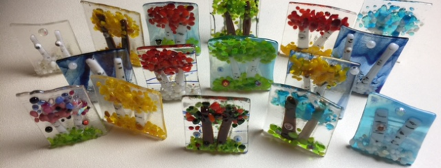 Getting Ready for My Fused Glass Shows