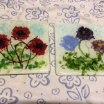 Fused Glass Flowers Technique