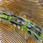 Fused glass – strip construction