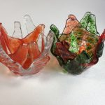 New Fused Glass Votives