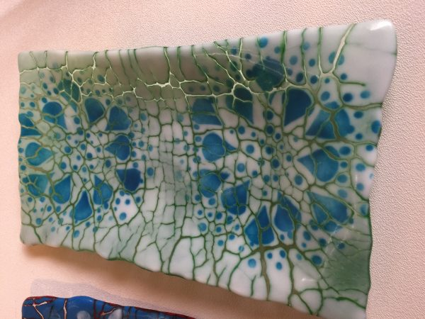 Follow-up to January and February Fused Glass projects