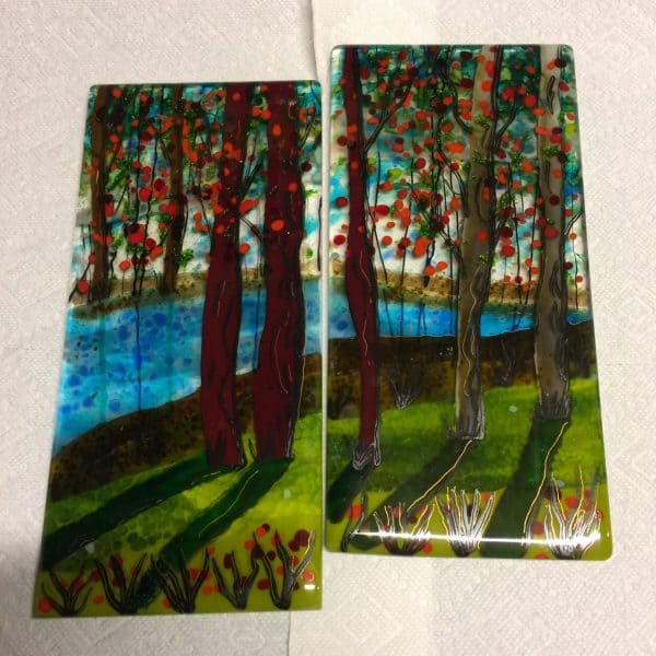 Fused glass Class - Alice