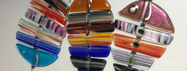 New Fused Glass Projects – Went to a good home!