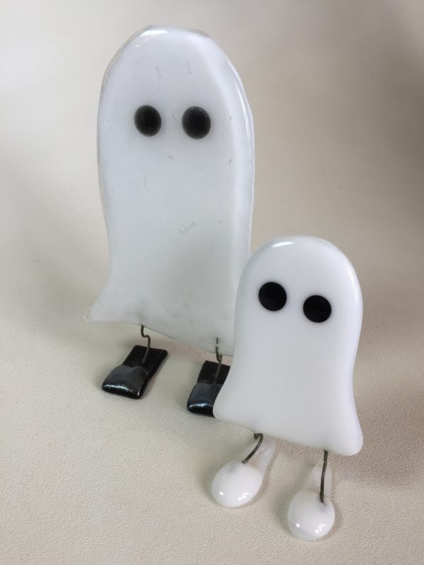 Fused Glass Ghost