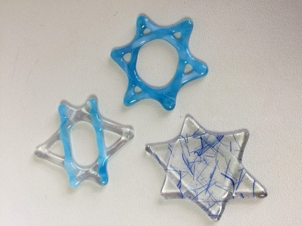 More Fused Glass Stars