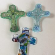 Fused Glass Crosses