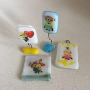 Custom fused glass – for my good friend