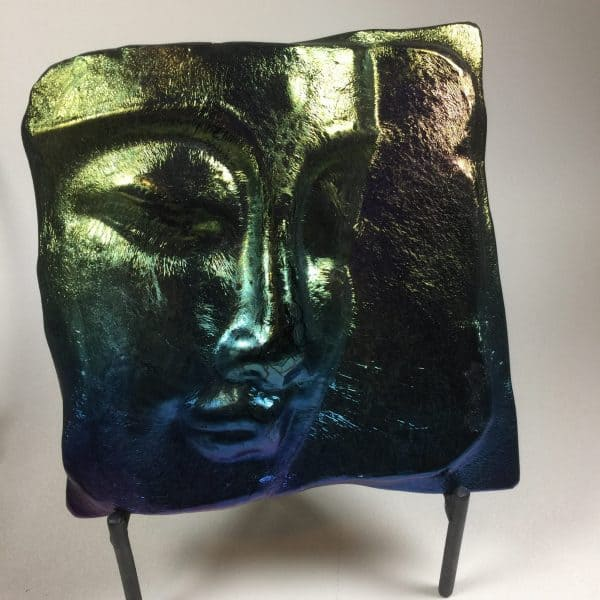 Fused Glass Buddha