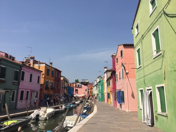 Side trip to Burano Italy