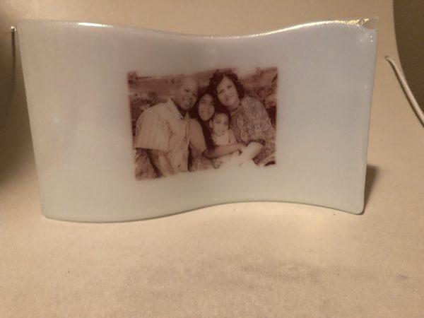 Fused Glass Present for Lela
