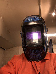 My first Welding Class