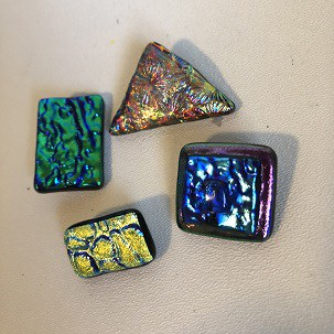 Finished Fused Glass