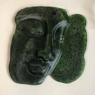 So is my fused glass Buddha Male or Female?