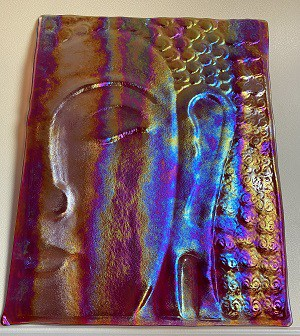 Fused Glass Buddha