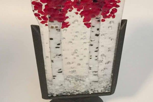 Valentines Day is coming – fused glass is a perfect gift
