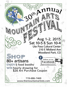 Mountain Arts Festival Flyer