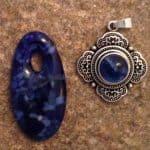 September Fused Glass Birthstone – Sapphire